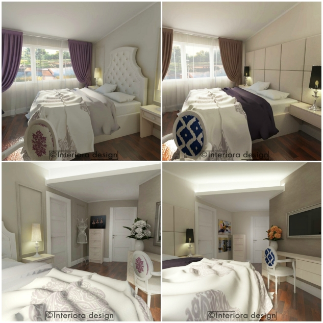 dormitor clasic versus modern