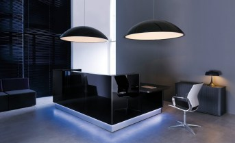 black-glass-reception-desk